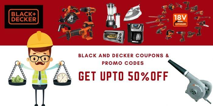 Black and Decker Coupon & Promo codes