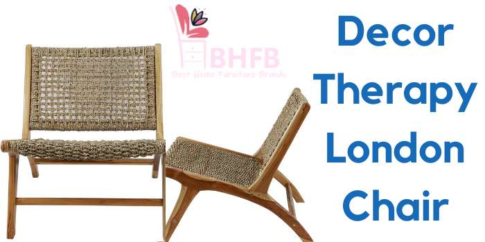 Decor Therapy London Chair