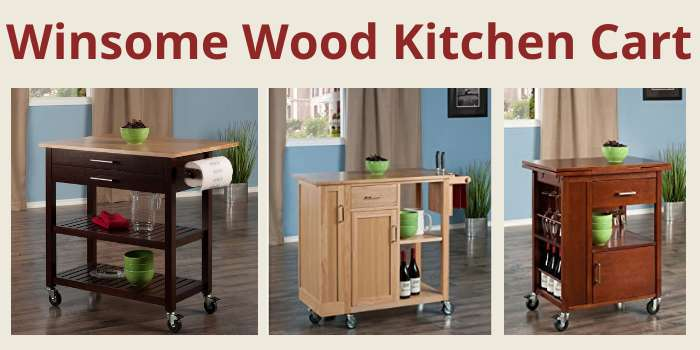 Winsome Wood Kitchen Cart